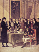 Napoleon Bonaparte Prints - Alessandro Volta, Italian Physicist Print by Science Source