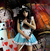 Imaginative Photos - Alice in Wonderland by Oleksiy Maksymenko
