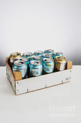 Soda Can Framed Prints - Aluminum Cans For Recycling Framed Print by Photo Researchers, Inc.