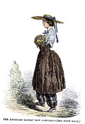 Bloomers Prints - Amelia Bloomer (1818-1894) Print by Granger