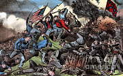 Army Of The Potomac Art - American Civil War, Battle by Photo Researchers
