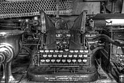 Oliver Typewriter Co. Oliver Typewriter Prints - Americana Print by Keith Tademy