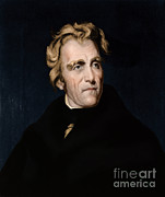 Owner Art - Andrew Jackson, 7th American President by Photo Researchers