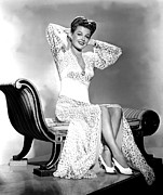 Chaise-lounge Prints - Ann Sheridan, Portrait Print by Everett