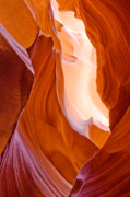 Arizona Framed Prints - Antelope Canyon Framed Print by Carl Amoth