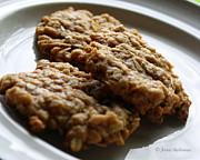 Anzac Framed Prints - Anzac biscuits Framed Print by Anne Babineau