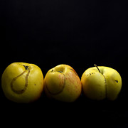 Single Object Art - Apples by Bernard Jaubert
