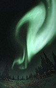Light Emission Posters - Aurora Borealis Poster by Chris Madeley
