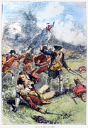 Bunker Hill Prints - Battle Of Bunker Hill, 1775 Print by Granger