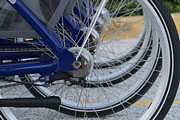 Brake Pedal Acrylic Prints - Bicycles Acrylic Print by Blink Images