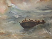 Renaissance Paintings - Calming the storm by Tigran Ghulyan