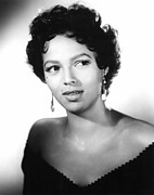 Short Hair Framed Prints - Carmen Jones, Dorothy Dandridge, 1954 Framed Print by Everett