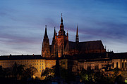 Prague Castle Photos - Cathedral of St Vitus by Michal Boubin