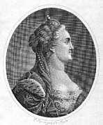Catherine The Great Prints - Catherine Ii (1729-1796) Print by Granger