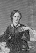 Charlotte Photo Prints - Charlotte Bronte, English Author Print by Photo Researchers