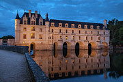 Castle Photos - Chateau Chenonceau by Brian Jannsen