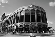 Baseball Murals Photos - Citi Field - New York Mets by Frank Romeo