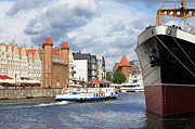 Sights Art - City of Gdansk in Poland by Artur Bogacki
