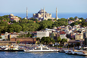 Residential Prints - City of Istanbul Print by Artur Bogacki