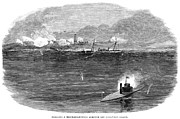 Ironclad Prints - Civil War: Blockade, 1864 Print by Granger