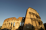 Lazio Photos - Coliseum. Rome by Bernard Jaubert