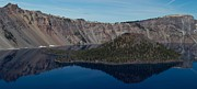 Crater Lake Panorama Posters - Crater Lake National Park Poster by Twenty Two North Photography