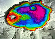 Crater Lake Print by Us Geological Survey