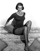 Cyd Prints - Cyd Charisse, Portrait Print by Everett