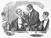 Servant Prints - DINING, 19th CENTURY Print by Granger