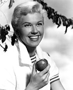 Enjoying Framed Prints - Doris Day, Warner Brothers, 1950s Framed Print by Everett