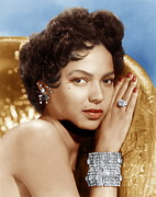 Diamond Bracelet Prints - Dorothy Dandridge, Ca. 1950s Print by Everett
