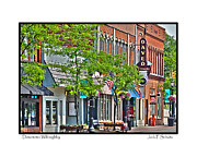 Jewelers Framed Prints - Downtown Willoughby Framed Print by Jack Schultz