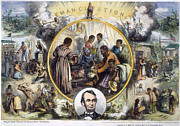 Abolition Photo Framed Prints - Emancipation Proclamation Framed Print by Granger
