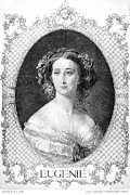 Empress Eugenie Of France Print by Granger