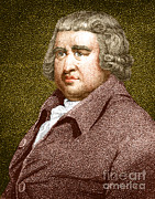 Abolitionist Framed Prints - Erasmus Darwin, English Polymath Framed Print by Science Source