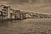 Prince Of Wales Prints - Falmouth Harbour  Print by Brian Roscorla