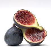 Halved Framed Prints - Figs Framed Print by Bernard Jaubert