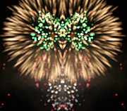 4th July Digital Art Posters - Firework Poster by Odon Czintos