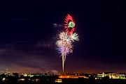 Fireworks Print by Mark Weber
