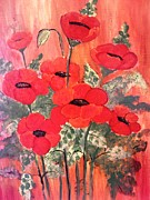 Rekha Artz - Flower Paintings