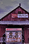 Pumps Originals - Fosters Mill Store HDR by Jason Blalock