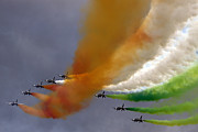Airshow Photos - Frecce Tricolori by Angel  Tarantella