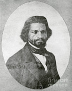 Slavery Framed Prints - Frederick Douglass, African-american Framed Print by Photo Researchers