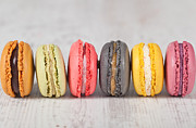 Specialty Framed Prints - French macarons Framed Print by Sabino Parente