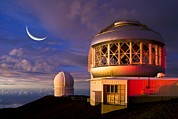 Mauna Kea Photos - Gemini North Telescope, Hawaii by David Nunuk