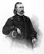 U.s. Army Prints - George Custer (1839-1876) Print by Granger