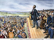 Lincoln Speech Posters - Gettysburg Address Poster by Granger