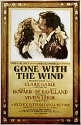 Gable Framed Prints - Gone With The Wind, 1939 Framed Print by Granger