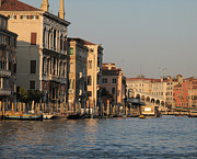 Featured Pyrography Prints - Grand Canal. VENICE Print by Bernard Jaubert
