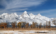 Warm Light Prints - Grand Teton National Park Print by Pierre Leclerc